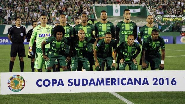 L'equipa da ballape Chapecoense