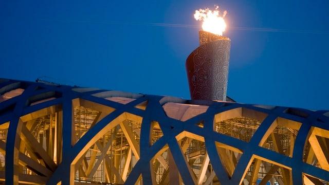 Brennt die olympische Fackel in 9 Jahren wieder in Peking?