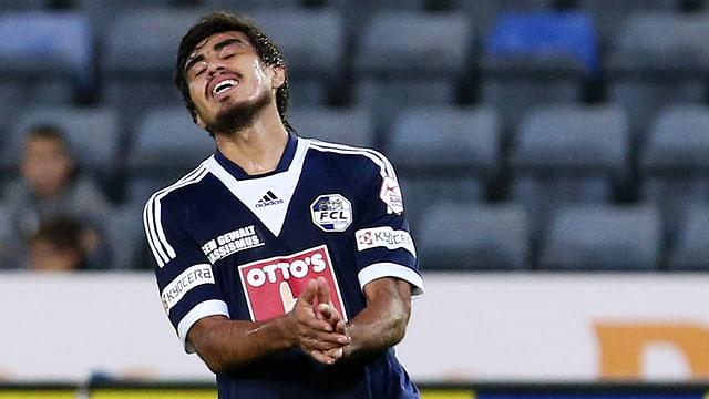 Dario Lezcano verletzte sich im Training.