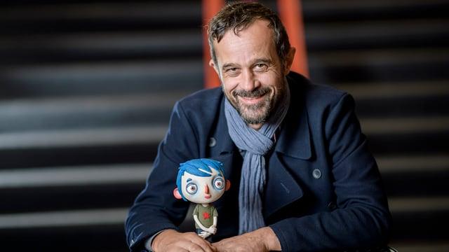 Claude Barras mit Courgette.