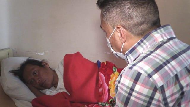 Video «Willian Montaño setzt sich für ausgestossene HIV-Patienten ein» abspielen
