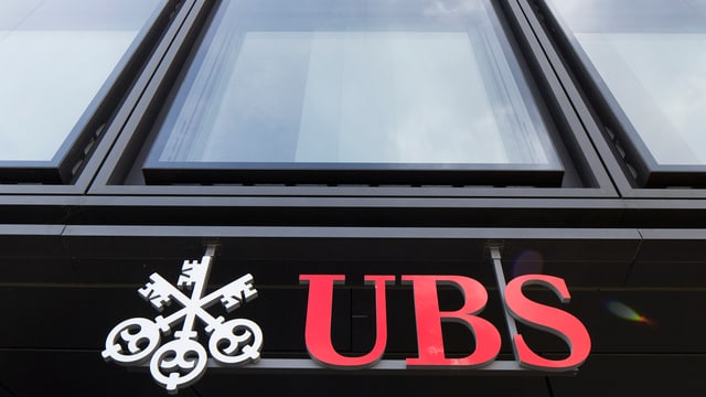 Das Logo der UBS