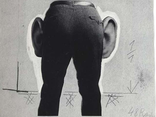 Eine Hose mit Ohren.