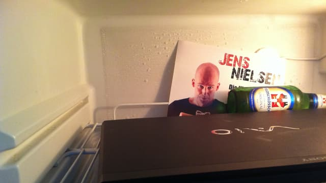 Der Kühlschrank von Jens Nielsen.