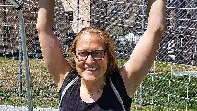 Seraina Friedli viva ses siemi en Italia