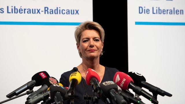 La politicra Karin Keller-Sutter.