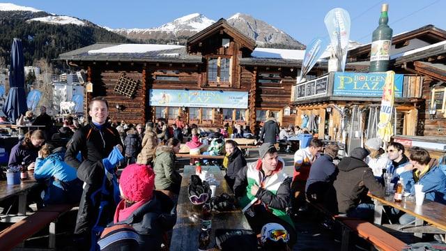 Bergrestaurant in Davos.