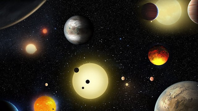 planets en noss sistem solar