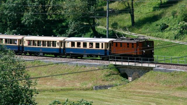 Tren nostalgic da la Viafier retica