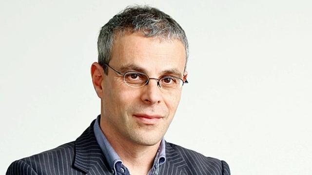 Zu sehen Laurent Goetschel.