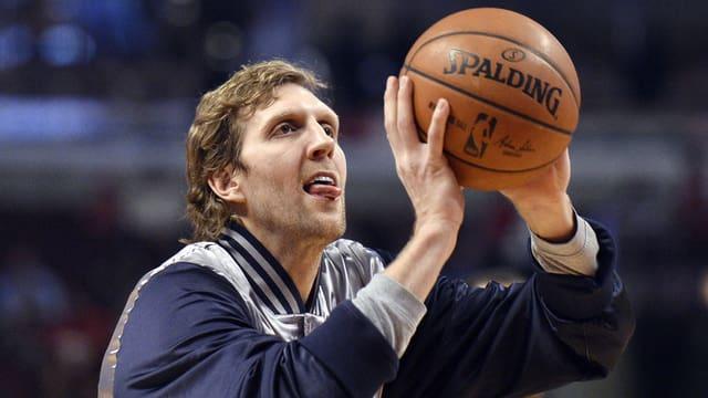 Dirk Nowitzki ist in der NBA eine der unangefochtenen Leader-Figuren.