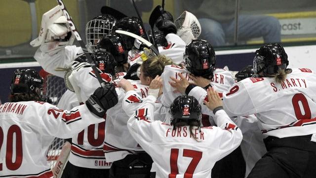 Eishockey Frauen.