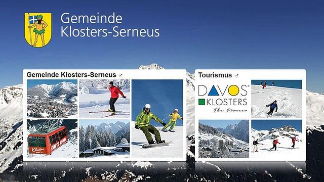 La pagina d'internet da la vischnanca Claustra-Serneus.