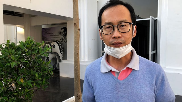 Somchai Preechasinlapakun ist Politbeobachter und Rechtsprofessor der Universität Chiang Mai.