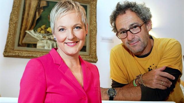 Jeanne Fürst und Dani Levy
