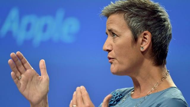 Margrethe Vestager im Profil
