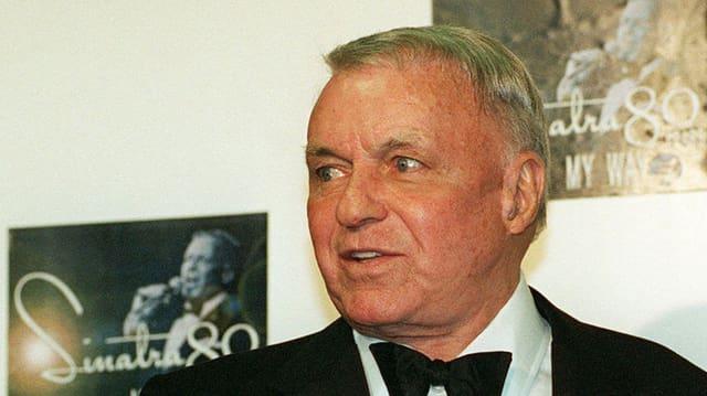 Frank Sinatra il 1995 cura ch'el ha festivà ses 80 avel anniversari.