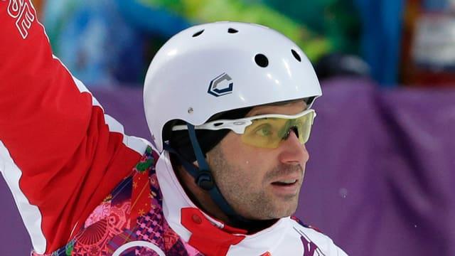 Skiakrobat Renato Ulrich (hier bei den Olympischen Spielen in Sotschi)