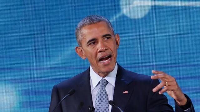 Il president american, Barack Obama.