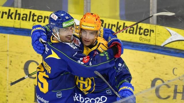 Marc Wieser e Perrtu Lindgren