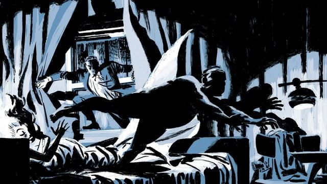 «Parker» in der Graphic Novel «The Hunter»