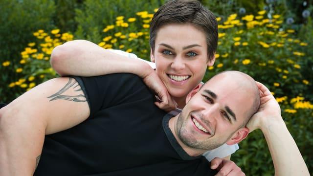 Nina Burri und Stefan Schwitter.