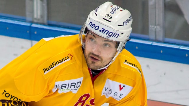 Jewgeni Schirjajew (hier im Dress der SCL Tigers).