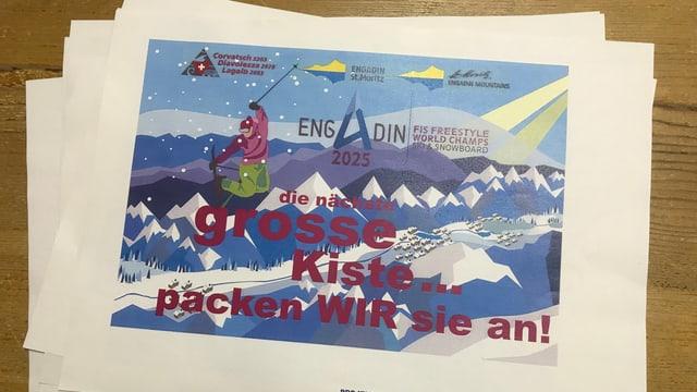 Project candidatura CM da snowboard e freestyle