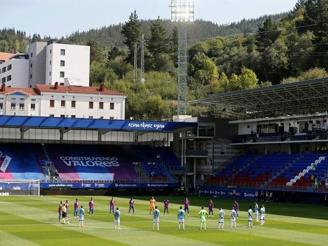 Spanien Saison-Auftak Eibar gegen Celta Vigo