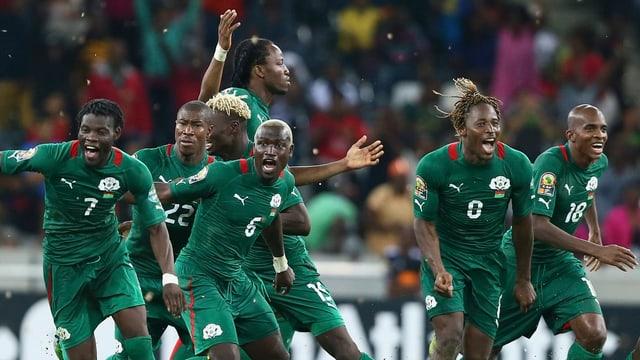 Burkina Faso schaffte sensationell den Einzug in den Final.