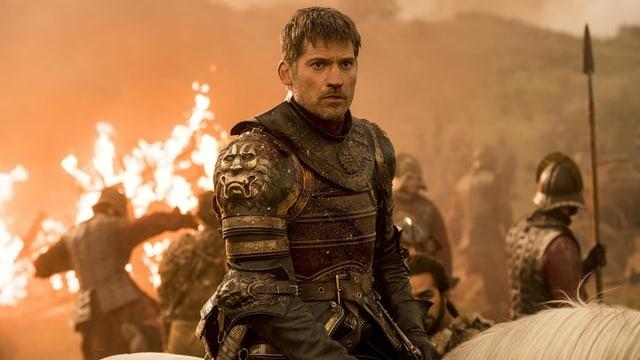 Nikolaj Coster-Waldau 2017 hoch zu Ross in «Game of Thrones».