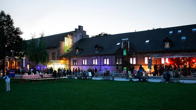 Rossstall der Kaserne Basel