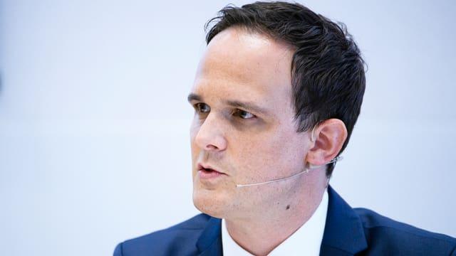 Florian Kohler ist Liga-CEO bei Swiss Ice Hockey.