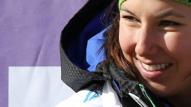 Wendy Holdener überzeugt im Slalom.
