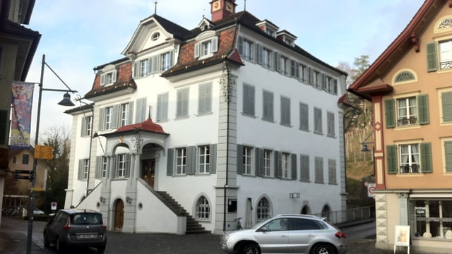 Das Rathaus in Sarnen, wo der Kantonsrat jeweils tagt.
