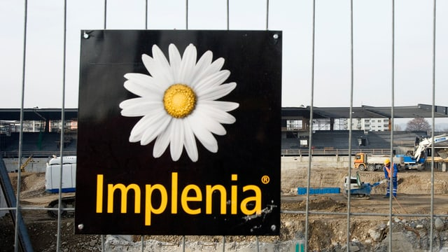 Baustelle der Implenia AG auf dem Letzigrund, 2007