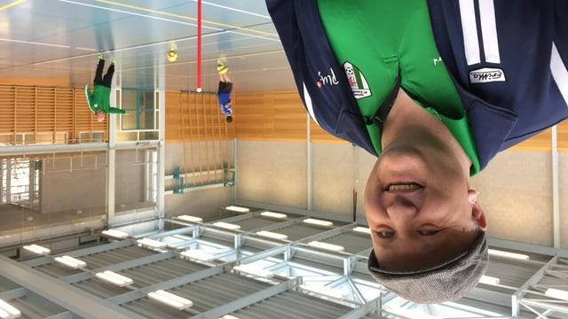 Yannick Cavallin setzt sich für den Behindertensport ein und ist als Held des Alltags nominiert.