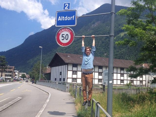 Ist in Altdorf aufgewachsen: SRF 3 Moderator Michael Zezzi.