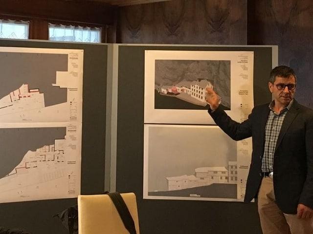 Landeshauptmann Stefan Müller präsentiert Pläne für den Ausbau des «Äscher»