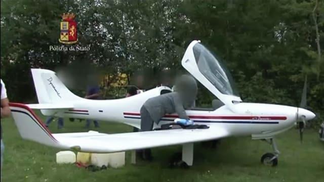 Sportflugzeug.