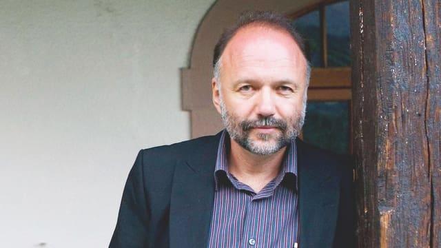 Andrej Kurkow im Porträt.