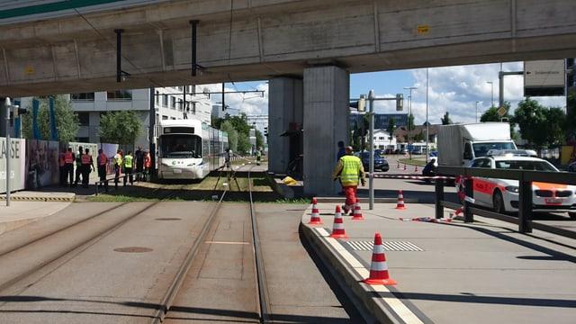 Bild des Unfallorts.