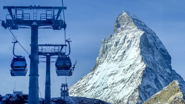 La cursa sur cunfin al pe dal Matterhorn è sin buna via