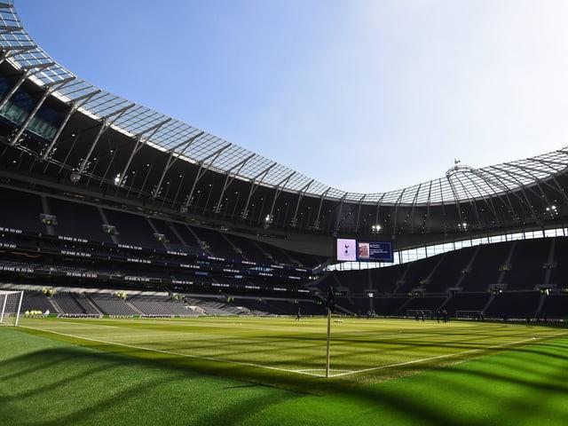Ein Blick in den Bauch des neuen Stadions.