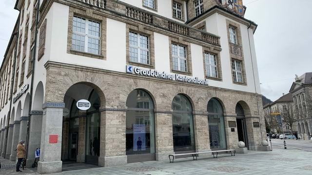 Bajetg da la Banca Chantunala Grischuna a Cuira.