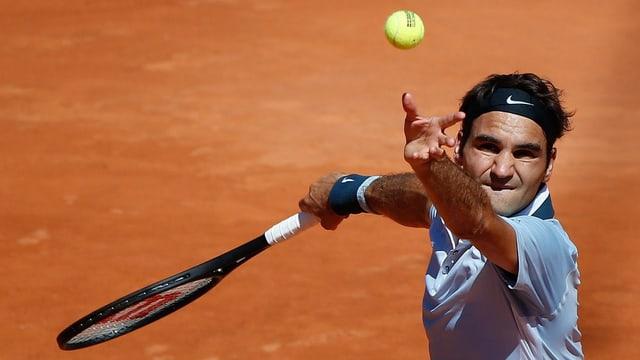 Roger Federer möchste in Gstaad eine Reaktion auf die zuletzt enttäuschenden Resultate zeigen.