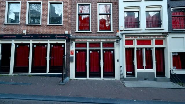 Fenster im Rotlichtviertel