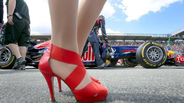 Die Grid Girls sind in der Formel 1 nicht mehr zu sehen.