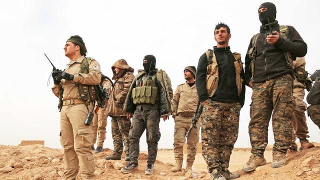 Soldaten der SDF