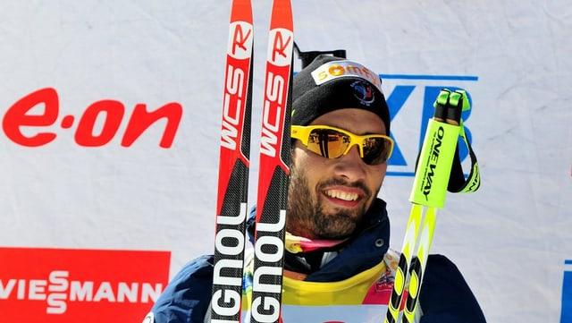 Martin Fourcade ist es der Mann, den es im Biathlon zu schlagen gilt.